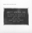 Abbott Memorial Hall