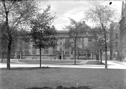 Hitchcock Hall and Court