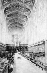 Kings College Chapel, Cambridge, University