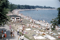 The Point during summer in the 1950s