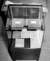 Exhibitions, Crerar Library