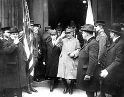 Visit, Marshall Foch