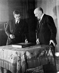 Visit, Mohammad Reza Pahlavi