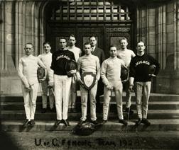 Fencing, 1928
