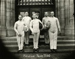 Fencing, 1930