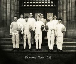 Fencing, 1931