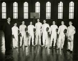 Fencing, 1943