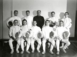 Fencing, 1954