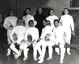 Fencing, 1956
