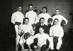 Fencing, 1916
