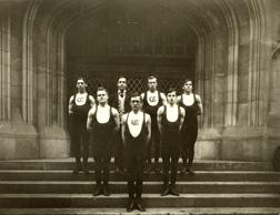 Gymnastics, 1908