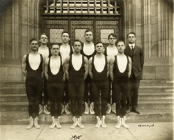Gymnastics, 1915