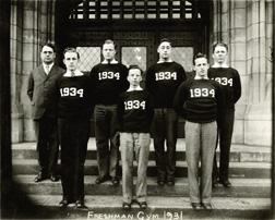 Gymnastics, 1931