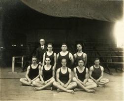 Swimming, 1914