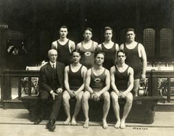 Swimming, 1915