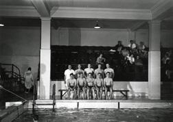 Swimming, 1954