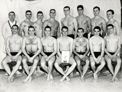 Swimming, 1957-1958