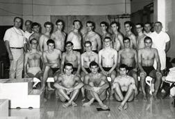 Swimming, 1961-1962